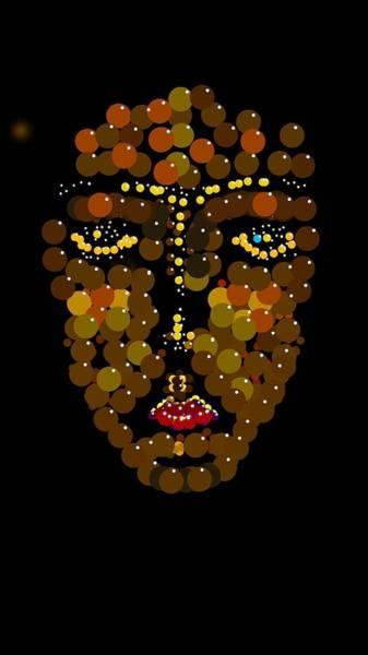 Digital Art - I Phone Face by R  Allen Swezey
