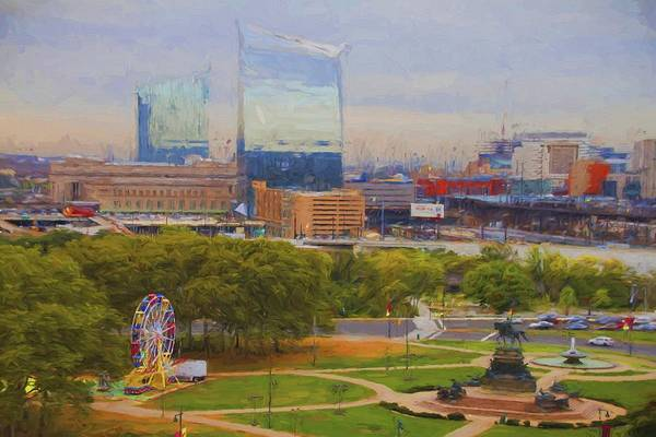 Photograph - I See A Ferris Wheel by Alice Gipson