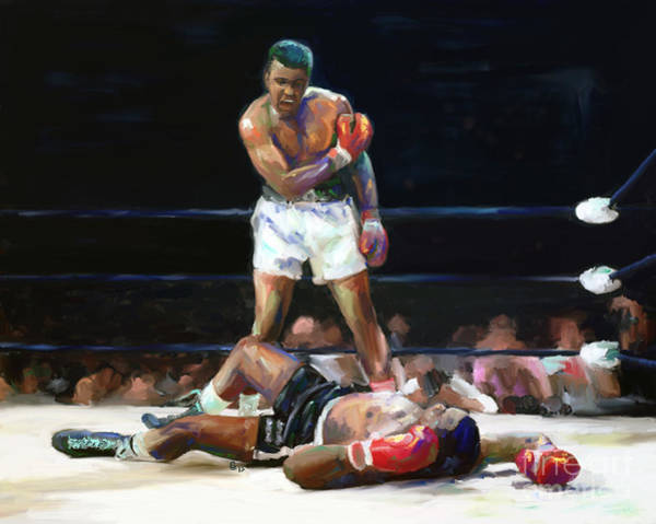 Boxing Mixed Media - I Shook Up The World by G Cannon