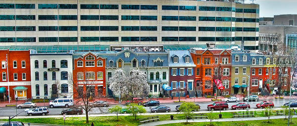 Wall Art - Photograph - I St Nw In Washington Dc by Jack Schultz