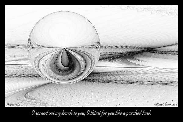 Digital Art - I Thirst For You by Missy Gainer