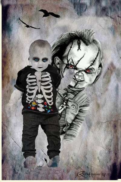 Chucky Wall Art - Digital Art - I Want You For A Friend by Ericamaxine Price