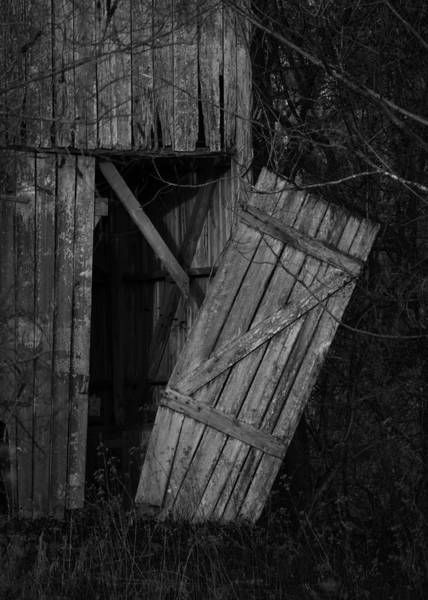 Frederick County Wall Art - Photograph - I Watched You Disappear - Bw by Rebecca Sherman