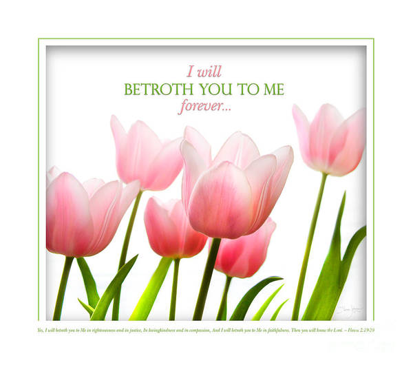 Photograph - I Will Betroth You by Shevon Johnson