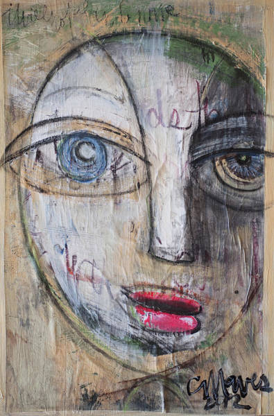 Painting - I Will Not Abandon Me by Laurie Maves ART