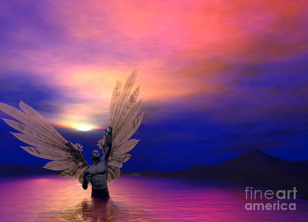 Digital Art - I Will Rise Again by Sipo Liimatainen