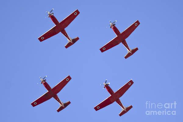 Aerobatics Wall Art - Photograph - Iaf Flight Academy Aerobatics Team 4 by Nir Ben-Yosef