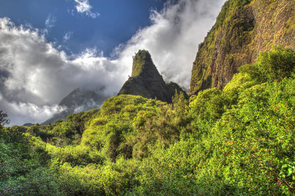 Photograph - Iao Valley Needle Maui Hawaii by Pierre Leclerc Photography