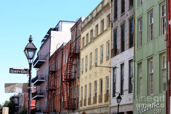 Photograph - Iberville Street In New Orleans by Carol Groenen