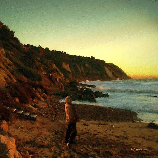 Painting - Ibiza Sunset by RC DeWinter