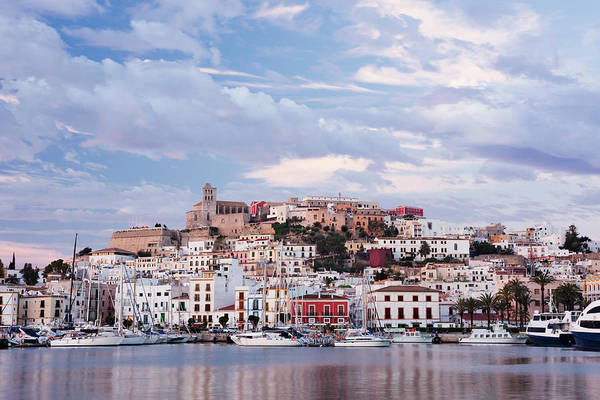 Old People Photograph - Ibiza Town by Jorg Greuel