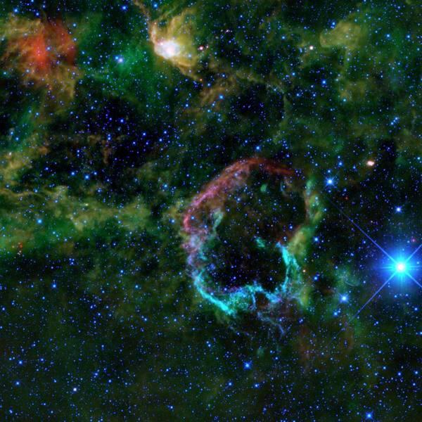 Ic 443 Supernova Remnant Art Print