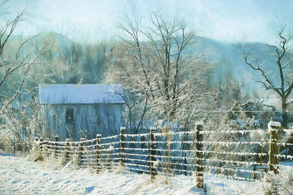 Wall Art - Photograph - Ice And Snow by Kathy Jennings