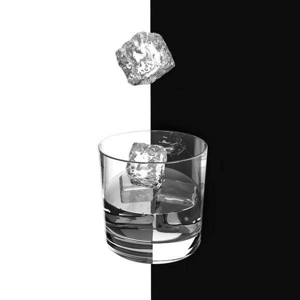 Cube Wall Art - Photograph - Ice And Wine by Antonyus Bunjamin (abe)
