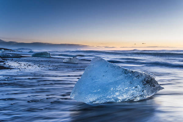Game Of Thrones Photograph - Ice Blue by Timm Chapman