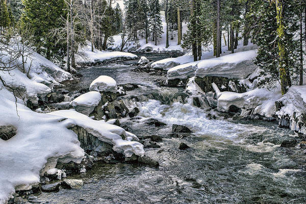 Photograph - Ice Blue Yuba At Soda Springs by William Havle
