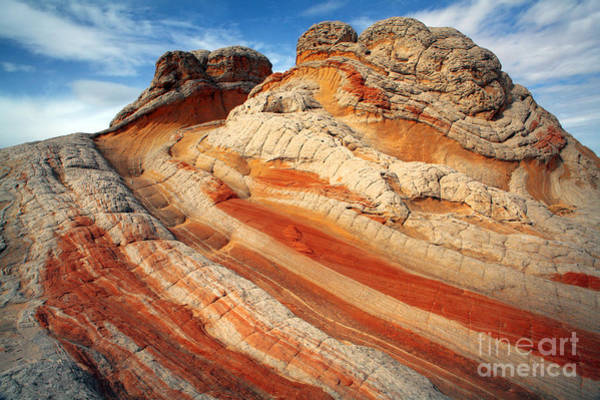Arid Climate Wall Art - Photograph - Ice Cream Rock Of White Pockets by Keith Kapple