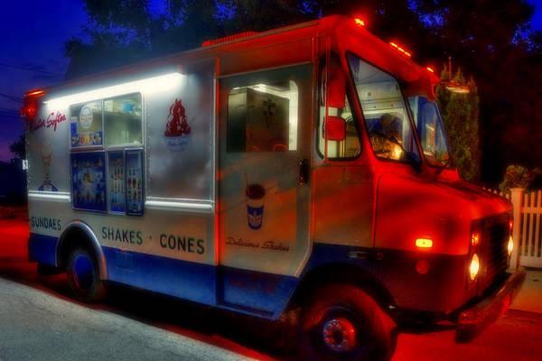 Photograph - Ice Cream Truck by Joann Vitali