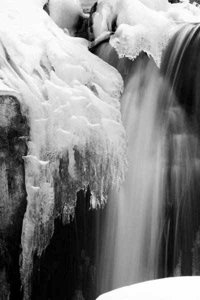 Photograph - Ice Falls by Brad Brizek