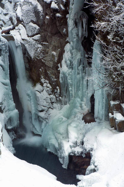 Christine Falls Photograph - Ice Falls Christine Falls, Mount by Tom Norring