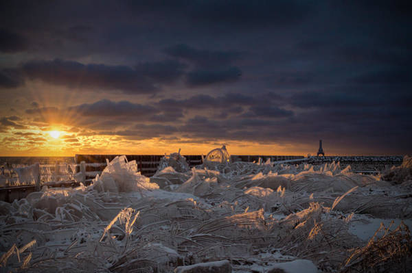 Photograph - Ice Fields by James  Meyer