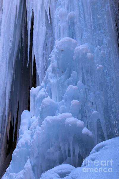 Box Canyon Wall Art - Photograph - Ice Flows by Adam Jewell