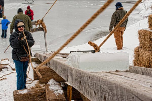 Photograph - Ice Harvest by Keith Swango