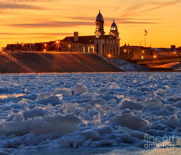 Photograph - Ice Jam On The Susquehanna by Adam Jewell