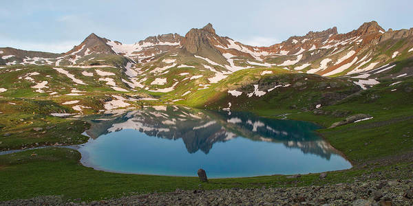 Wall Art - Photograph - Ice Lake Morning by Aaron Spong