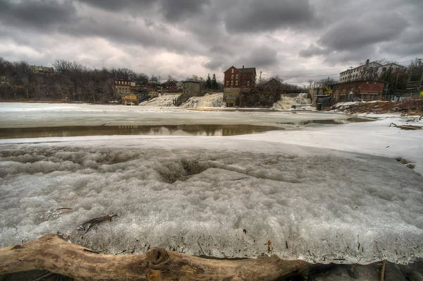 Wall Art - Photograph - Ice On Otter Creek by Mike Horvath