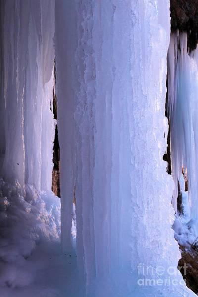 Box Canyon Wall Art - Photograph - Ice Pillars by Adam Jewell