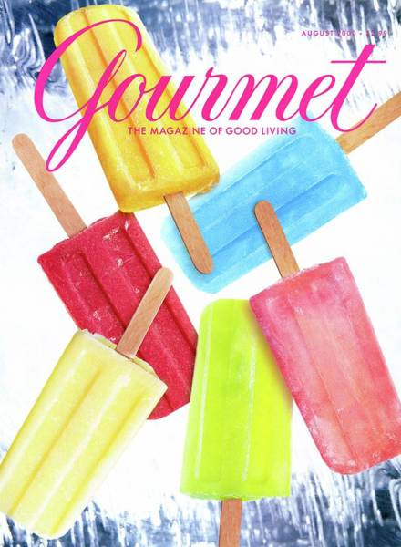 Ice Pops Art Print