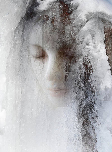 Sad Photograph - Ice Queen by Jeffrey Hummel