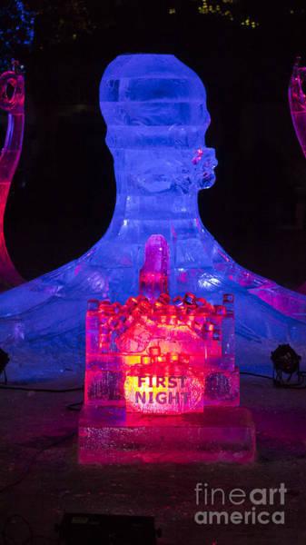 Photograph - Ice Sculpture by Steven Ralser