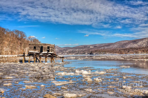 Photograph - Ice Shack by Rick Kuperberg Sr