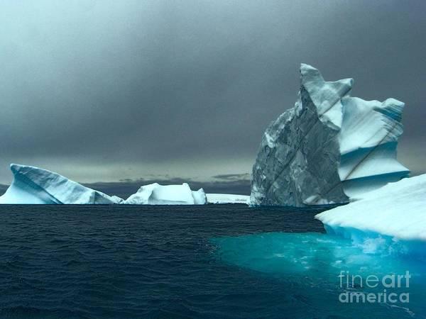 Photograph - Iceberg Alley- Antarctica by Karla Weber