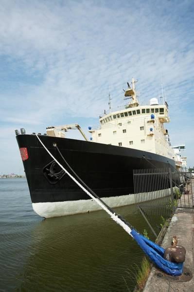 Finnish Photograph - Icebreaker Ship by Adam Hart-davis