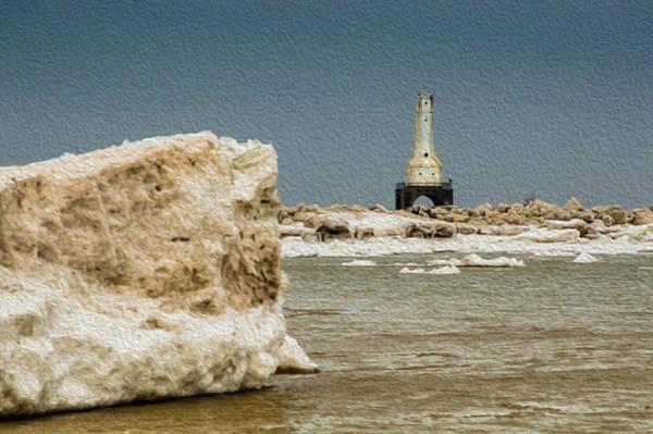 Photograph - Iceburg Lighthouse by James  Meyer