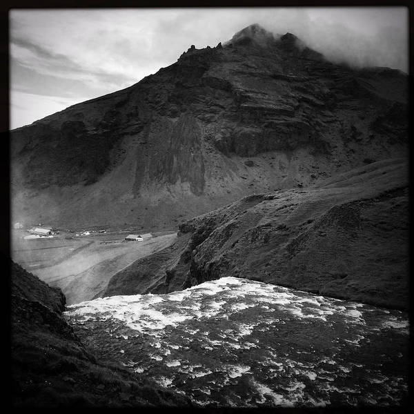 Wall Art - Photograph - Iceland Black And White Square Format by Matthias Hauser