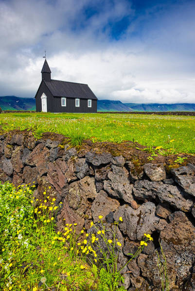 Photograph - Iceland Budir Church In Wonderful Landscape by Matthias Hauser