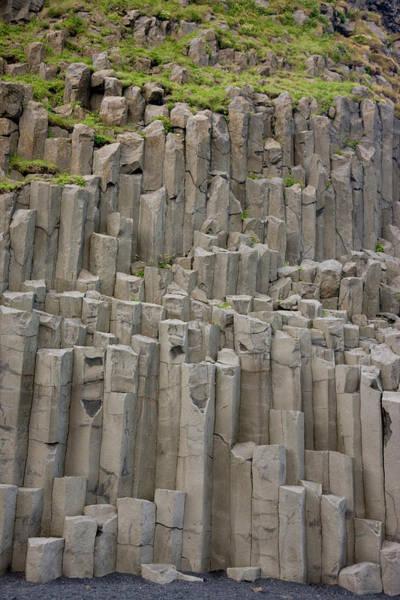 Basalt Photograph - Iceland Columnar Basalt Formation by Jaynes Gallery