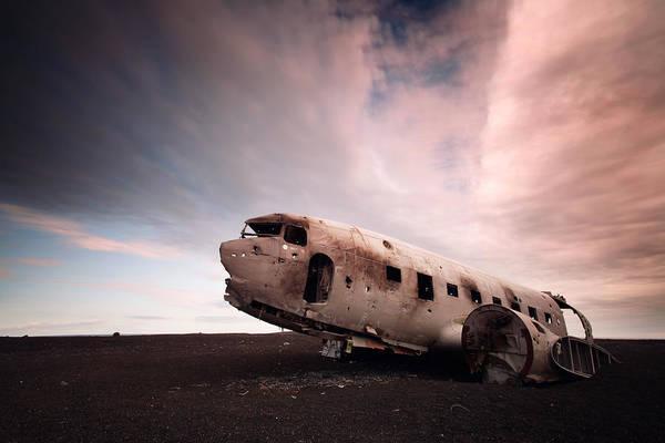 Wall Art - Photograph - Iceland Douglas Dc-3 by Nina Papiorek