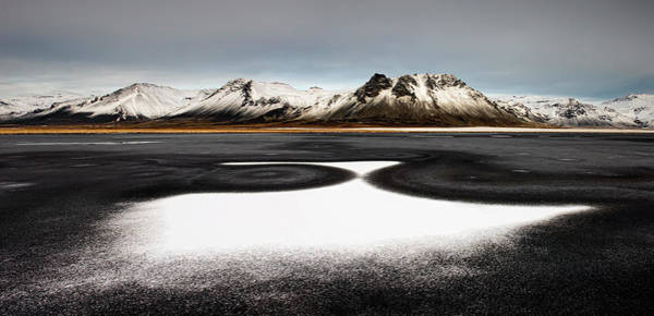 Cold Photograph - Iceland First Snow by Liloni Luca