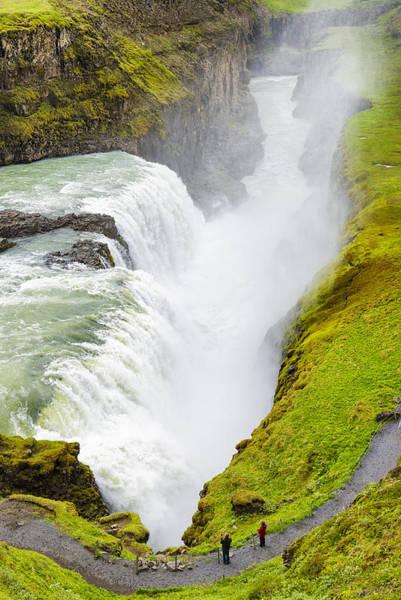Photograph - Iceland Gullfoss Waterfall by Matthias Hauser