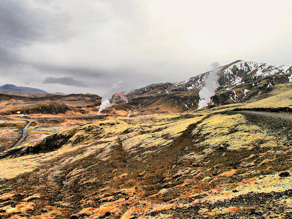Iceland Digital Art - Iceland Landscape 1 by Yury Malkov