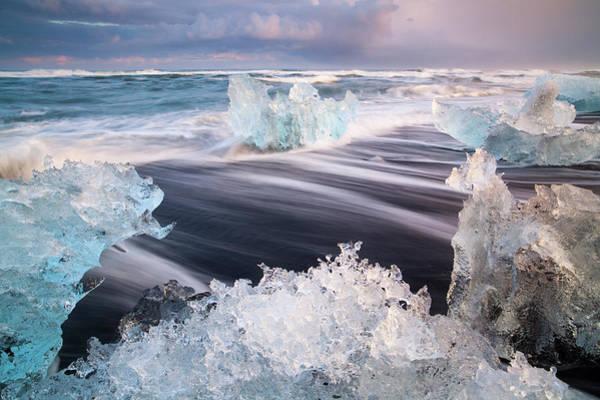 Wall Art - Photograph - Iceland, Skaftafell, Jokulsarlon by Travelpix Ltd