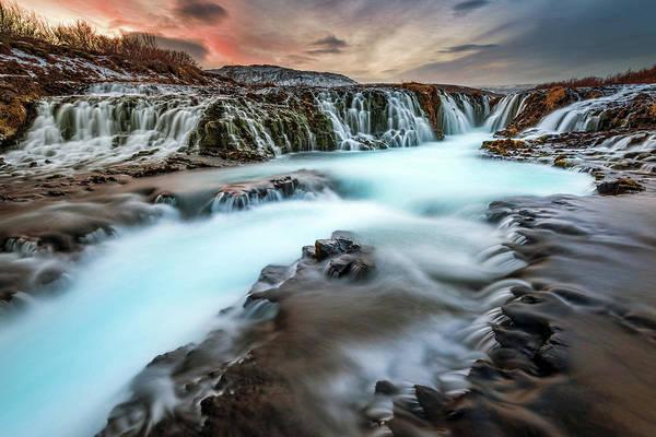 Golden Circle Photograph - Iceland Waterfalls by Noppawat Tom Charoensinphon