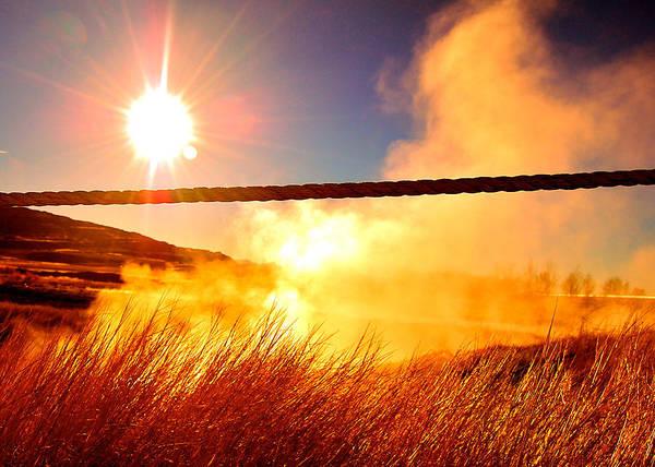 Photograph - Icelandic Sun by HweeYen Ong