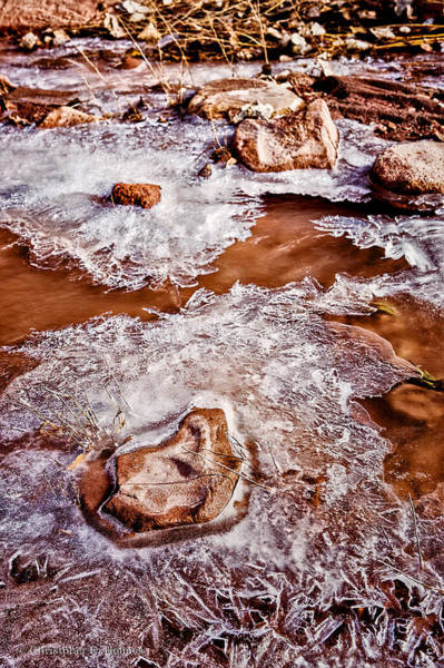 Photograph - Icey Stream by Christopher Holmes