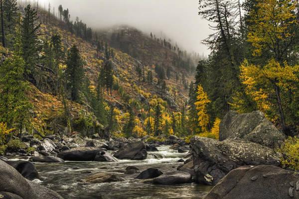 Photograph - Icicle Creek Hues by Mark Kiver